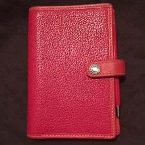 Vintage Notepad & Coach Pin